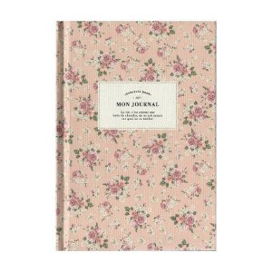 Agenda Permanente (Sem Data) Planner Mon Journal Floral Rosa - Artbox