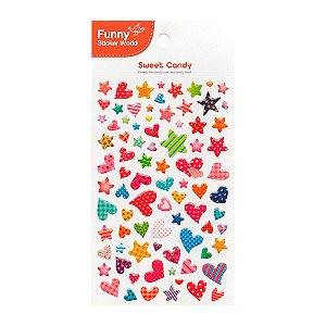Adesivo Divertido Epoxy - Sweet Candy