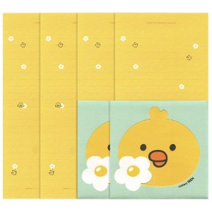 Papel de Carta Iren Letter Set Galapagos Friends Amarelo