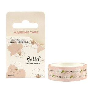 Fita Decorativa Washi Tape - Hello Sakura Rosa
