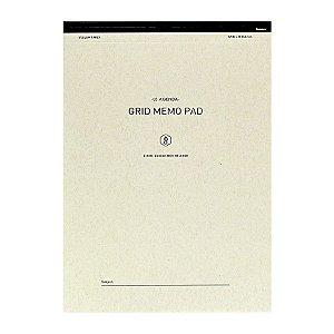 Bloco de Notas B5 Quadriculado Grid Memo Pad - Sysmax