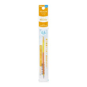 Refil Caneta Gel 0.5 Sliccies Iplus i+ Pentel - Golden Orange Laranja