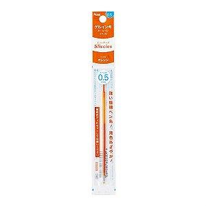 Refil Caneta Gel 0.5 Sliccies Iplus i+ Pentel - Orange Laranja