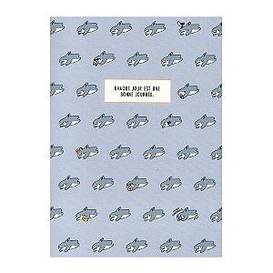 Caderno Brochura chaque Jour Est... Galapagos Friends Tubarão Boss Azul - Artbox