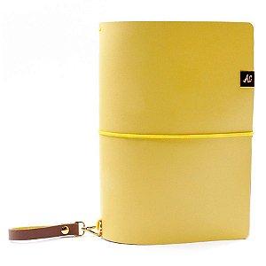 Capa Amarelo Mustard (Para 4 Blocos) Para Planner A.Craft Tamanho Padrão