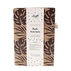 Pasta Porta Caneta Kraft Tropical Para Planner A.Craft Tamanho Padrão