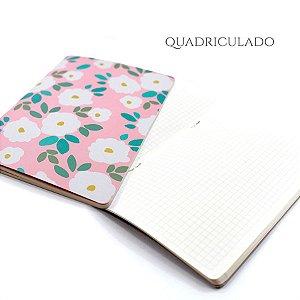 Caderno Quadriculado Daisy Para Planner A.Craft Tamanho Padrão