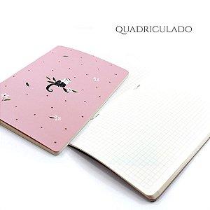 Caderno Quadriculado Cute Monkey Para Planner A.Craft Tamanho Padrão