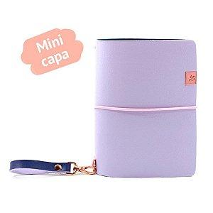 Mini Capa Grape Ice Cream Roxo (Para 4 Mini Blocos) Para Mini Planner A.Craft
