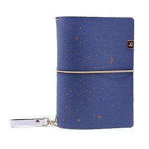 Capa Blueberry Zodiac (Para 4 Blocos) Para Planner A.Craft Tamanho Padrão