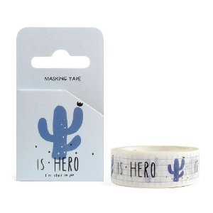 Fita Decorativa Washi Tape - Is Hero Quadriculado