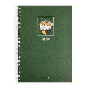 Caderno Espiral Capa Dura Notebook Retrato de Bethoven - Morning Glory