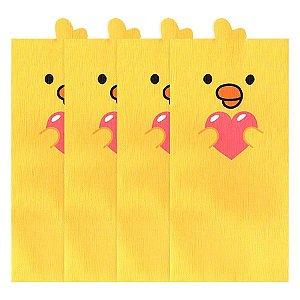 Kit Envelopes Galapagos Friends Pintinho Iren Amarelo