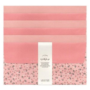 Kit Envelopes La Vie En Rose Floral Rosa
