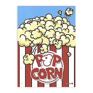 Caderno Brochura Pop Corn Pipoca - Morning Glory