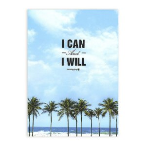 Caderno Brochura I Can And I Will Praia Coqueiros - Morning Glory