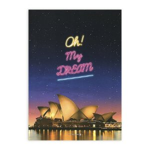 Caderno Brochura Oh My Dream Opera House Sydney Australia - Morning Glory