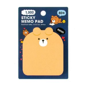 Post-it Sticky Memo Pad Galapagos Friends Oliver - Artbox