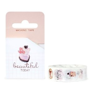 Fita Decorativa Washi Tape - Doces Beautiful Today Bolos