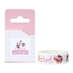Fita Decorativa Washi Tape - Doces Today Just Bolos