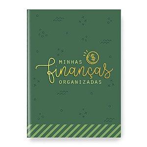 Planner Minhas Finanças Organizadas Verde - Cartões Gigantes