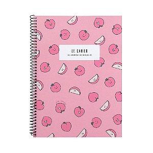 Caderno Espiral Médio Le Cahier Pêssego Rosa - Artbox
