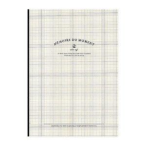 Caderno Brochura Pautado Mémoire Du Moment Creme - Artbox