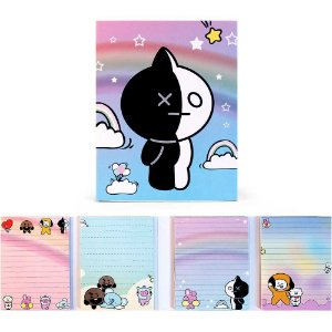 Cartela de Post-it BT21 BTS Van