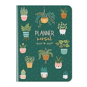 Planner Mensal Não Datado 12 Meses My Plants - Cartões Gigantes