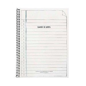 Caderno Espiral Médio Cahier de Notes Creme - Artbox