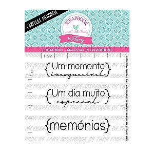 Kit de Carimbos Memórias Scrapbook by Tamy - Lilipop