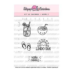Kit de Carimbos Verão 2 - Lilipop