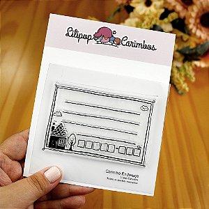 Carimbo Endereço - Lilipop