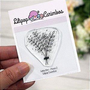 Carimbo Mini Flores 2 - Lilipop