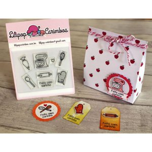 Kit de Carimbos Confeitaria - Lilipop