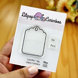 Kit de Carimbos Mini Tag - Lilipop
