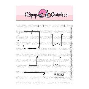 Kit de Carimbos Banner 3 - Lilipop