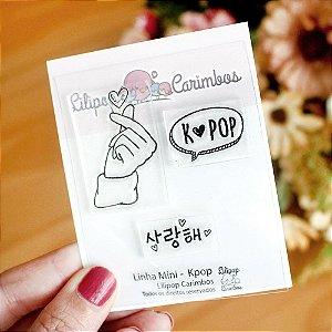 Kit de Carimbos Mini Kpop - Lilipop