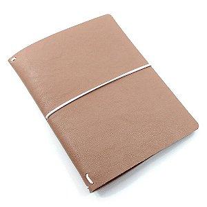 Capa Latte Marrom (Para 4 Blocos) Para Planner A.Craft Tamanho Padrão