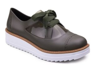 Amy Oxford Verde Militar Cherry By Boaonda