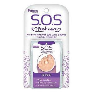 Protetores Invisíveis de Calos e Bolhas Dedos SOS Palterm