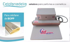 SELADORA CELOFANADEIRA PARA PERFUMES 30 CM
