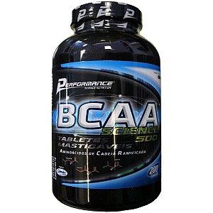 BCAA Science - Mastigável (200 caps) - Performance