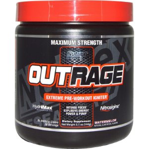 Out Rage (30 doses) - Nutrex