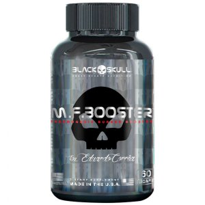M. F. Booster (60 caps) - Black Skull