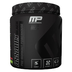 Assault Black (30 doses) - MusclePharm