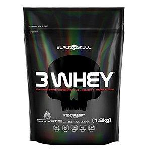 3 Whey Refil - Black Skull (1,8kg)