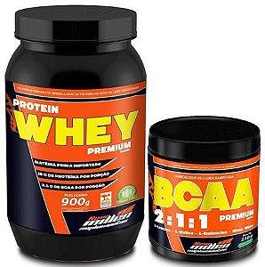 Protein Whey (900g) + BCAA 2:1:1 (210g)
