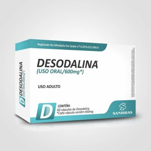 Desodalina (60 caps) - Power Supplements