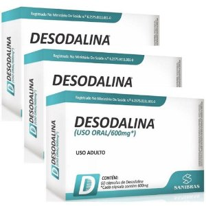 3un Desodalina (60 caps) - Power Supplements